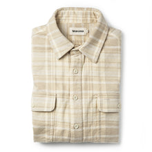 Load image into Gallery viewer, Ledge Shirt in Sand Plaid