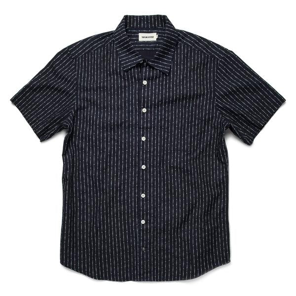 Short Sleeve Hawthorne in Indigo Moon Phase