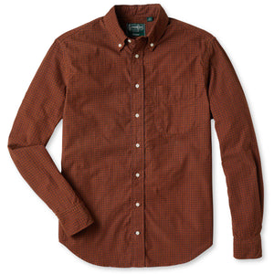 Italian Printed Corduroy Button Down