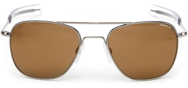 Gunmetal Polarized American Tan Aviator