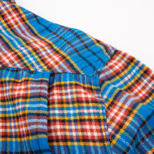 Load image into Gallery viewer, Blue Plaid Benson