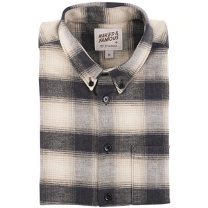 Brushed Plaid Easy Shirt