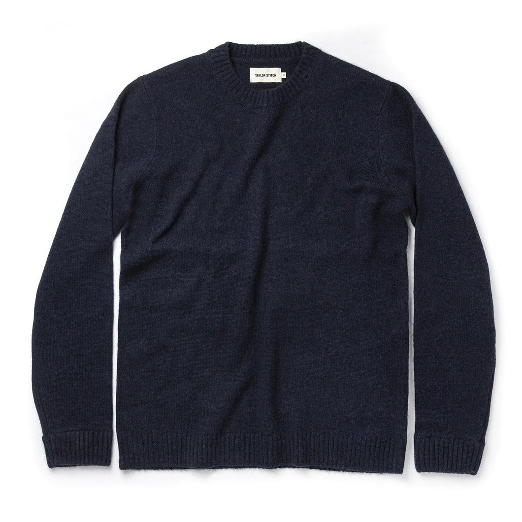 Navy Lodge Sweater