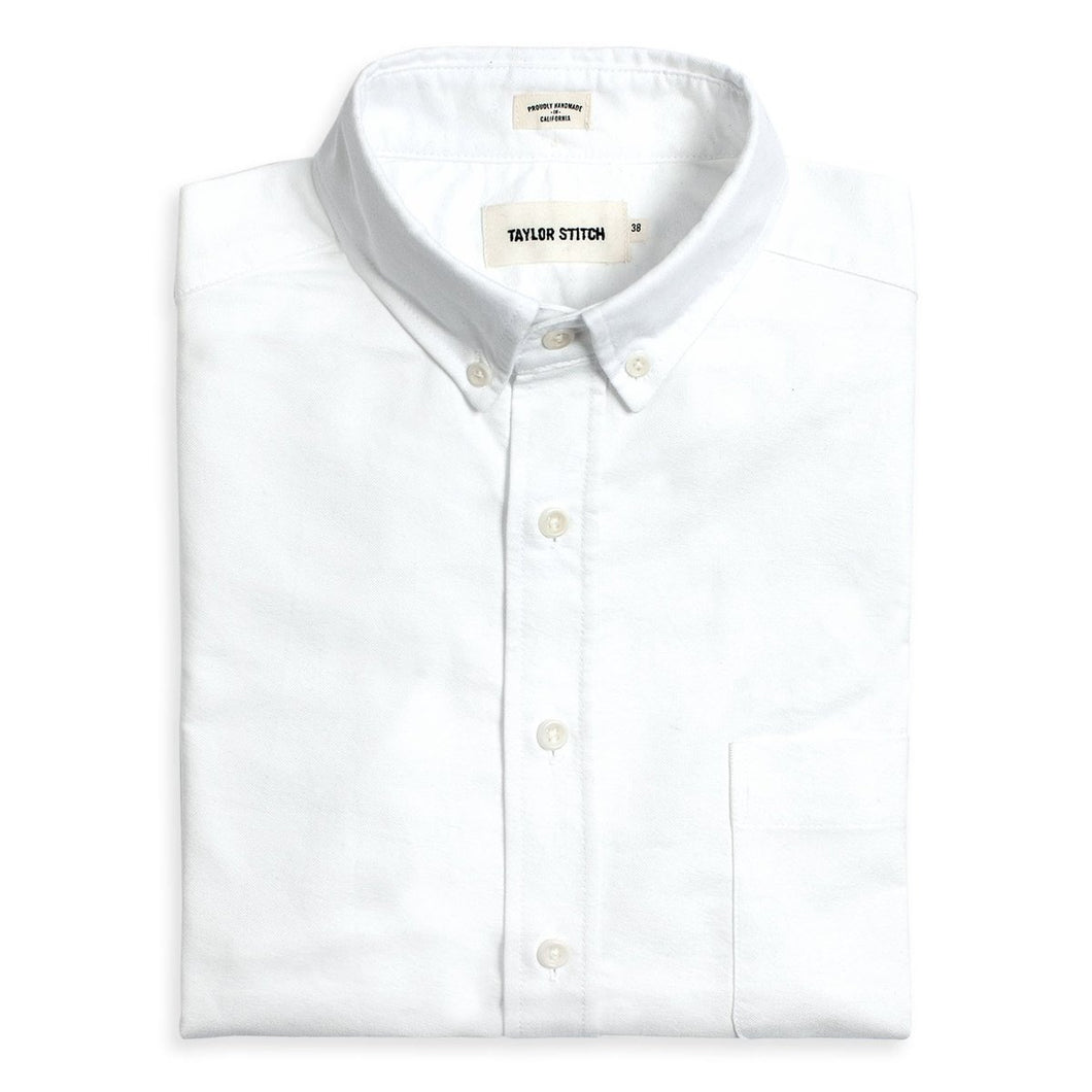 The Jack in White Oxford