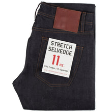 Load image into Gallery viewer, UB422 Tight 11oz Indigo Stretch Selvedge