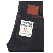 Load image into Gallery viewer, UB622 Relaxed Tapered 11oz Indigo Stretch Selvedge