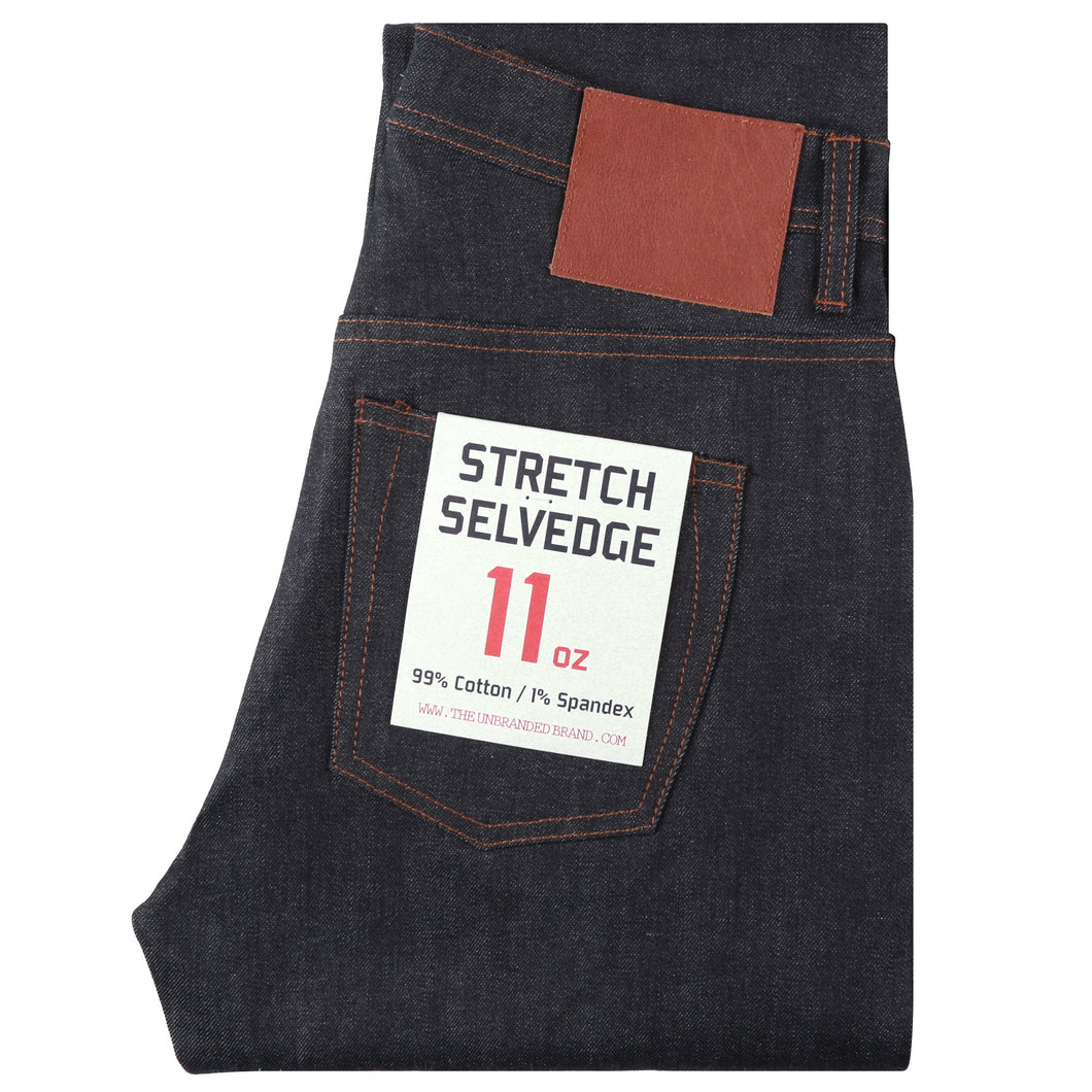 UB622 Relaxed Tapered 11oz Indigo Stretch Selvedge