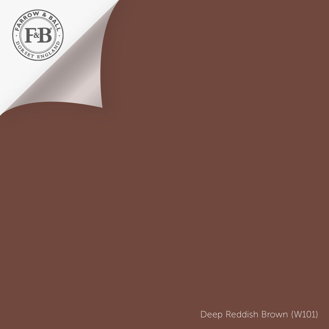 Deep Reddish Brown (No. W101) 12