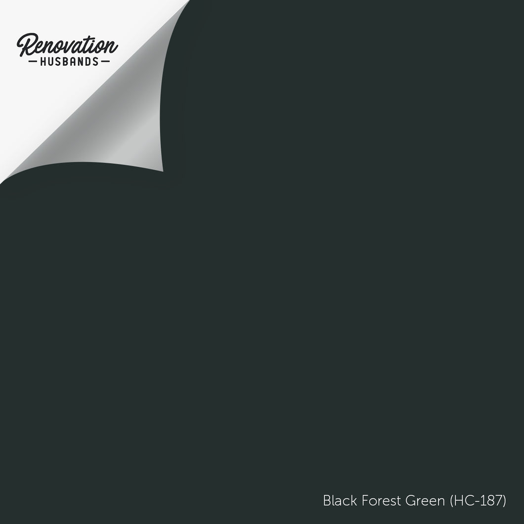 benjamin moore hc-187 black forest green