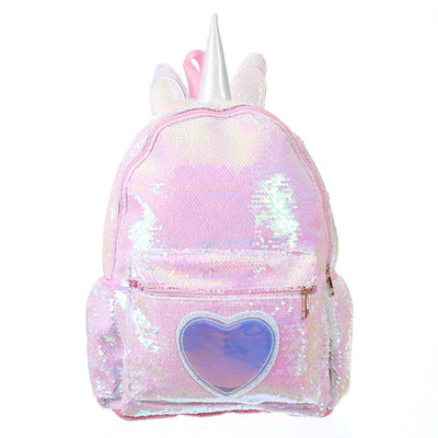 Unicorn Sequin Backpack