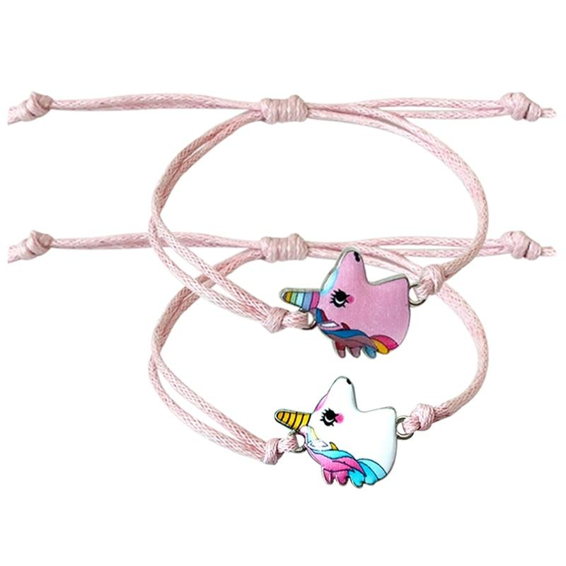 twist unicorn bracelet