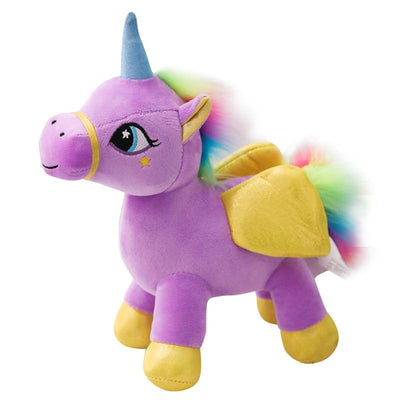 Rainbow Colored Unicorn Stuffed Animal