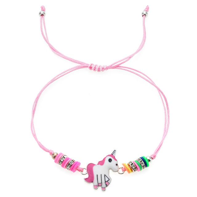 Unicorn Friendship Bracelet