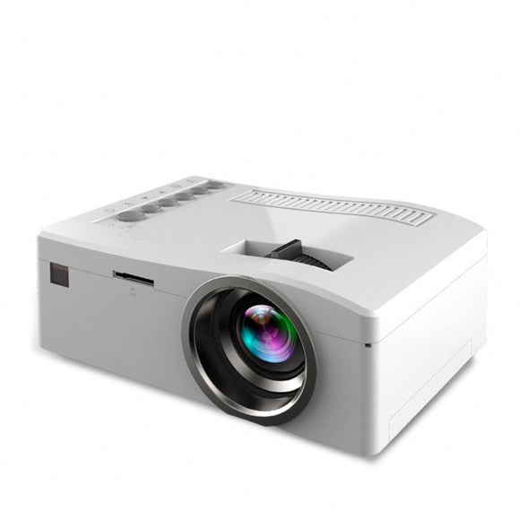 Mini Beamer HD 1080P bis 80 zoll LED Digital Projector UC18