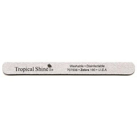 Tropical Shine Non-Washable Zebra File 180/180 Grit 50pcs