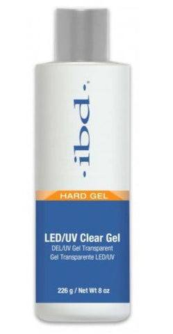IBD LED/UV Clear Gel 8oz - Skyline PA