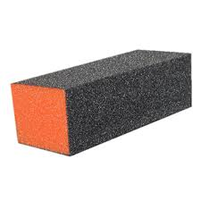 Orange Buffer 100/180 3-Way Black Grit - Skyline PA