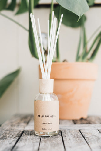 FOLKS THE LABEL Reed Diffuser 100ml - Peace of Mind