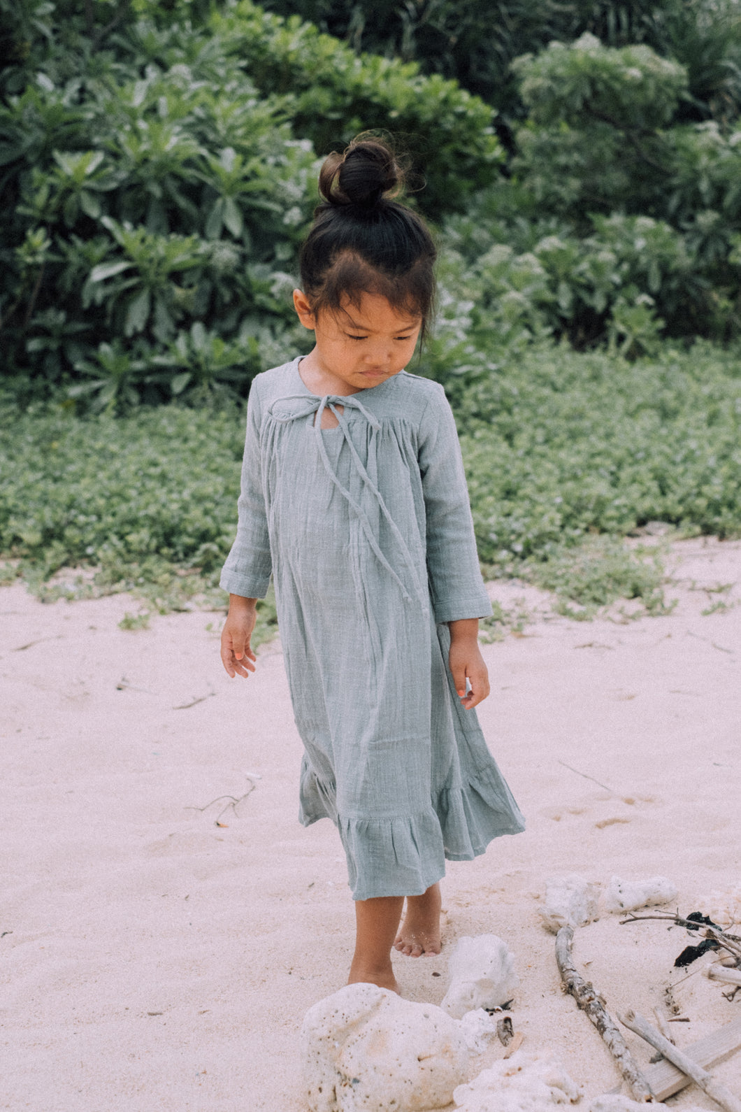 The Sun Dream  / Kids Long Maxi Dress