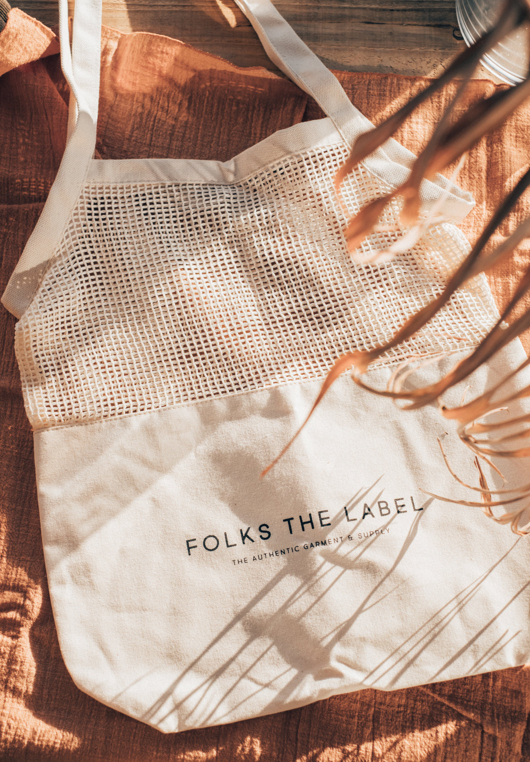 FOLKS THE LABEL / Mesh Eco Bag