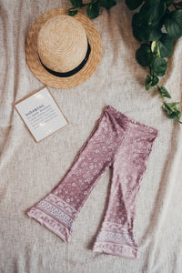 The Sun Dream / Kids Flare Leggings - Boho
