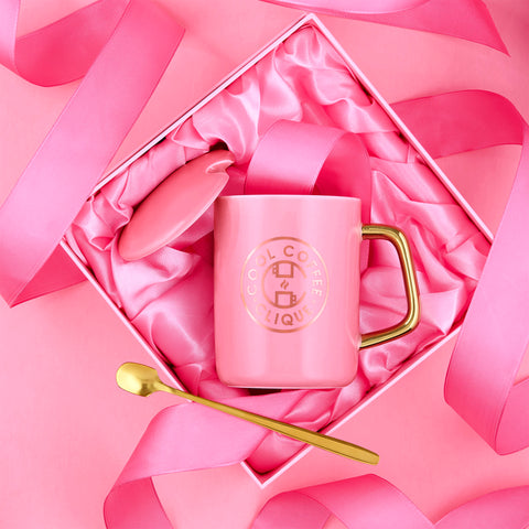 Cool Coffee Clique Premium Strong AF™ Coffee + Pink Mug Set
