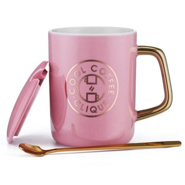 Cool Coffee Clique Owner's Mug (PINK)