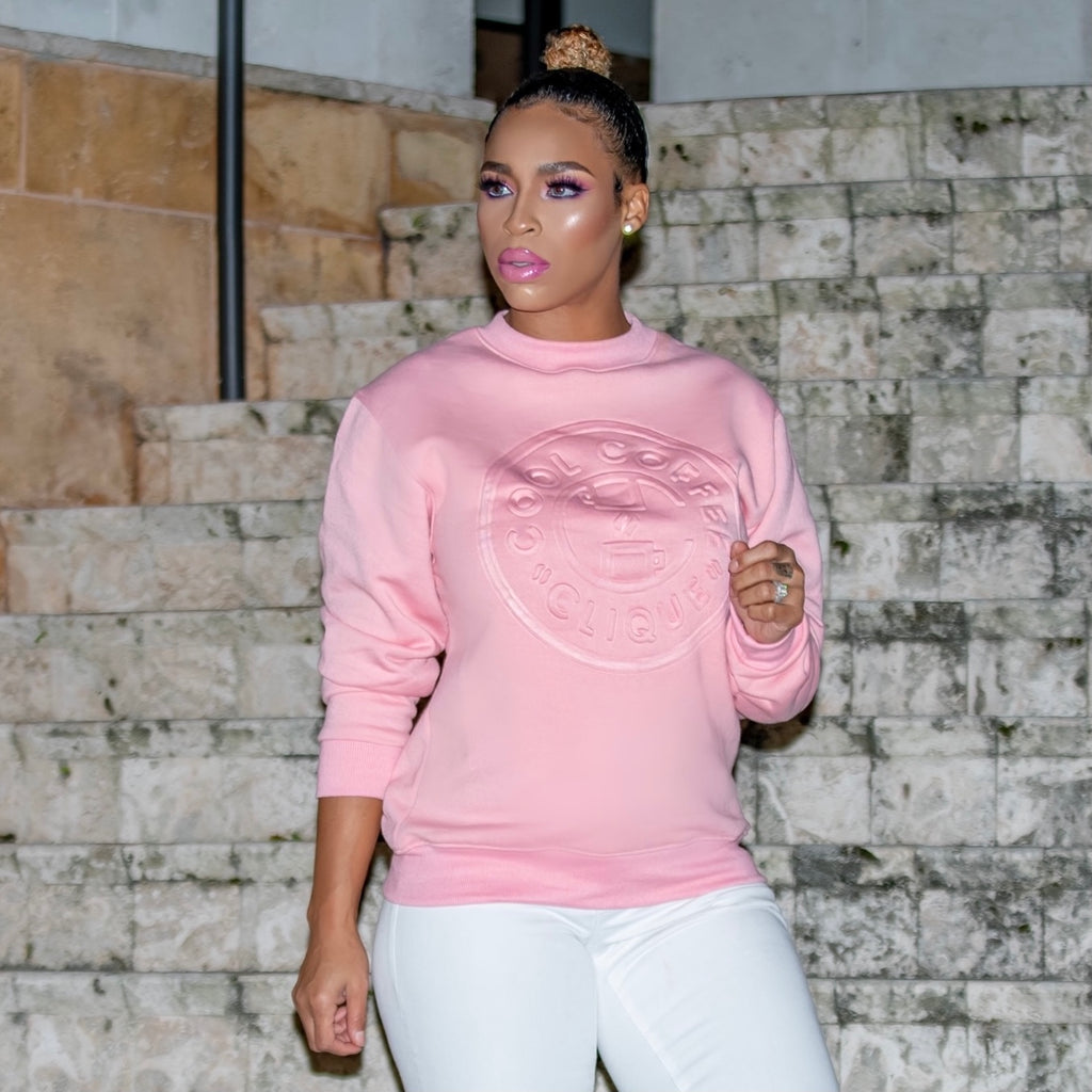 Sweet Elite MEMBERS ONLY Sweater (Pink)