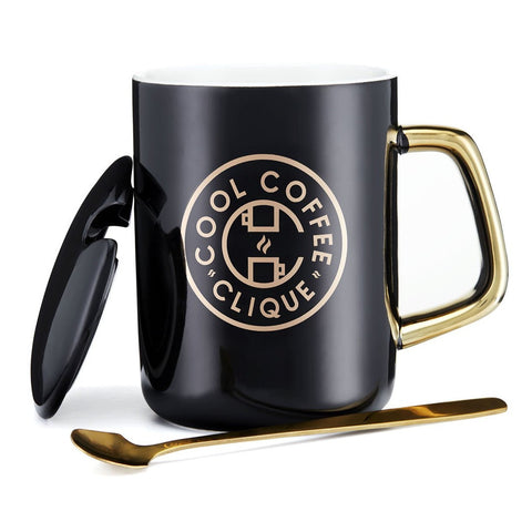 Cool Coffee Clique Owner's Mug (BLACK)