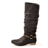 FOXY Classic Black Stylish Winter Boot
