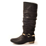 KODE Classic Black Stylish Winter Boot