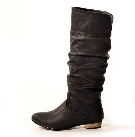 Classic Black Stylish Winter Boot