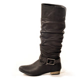 STOMP Classic Black Stylish Winter Boots