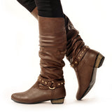FOXY Classic Brown Stylish Winter Boot