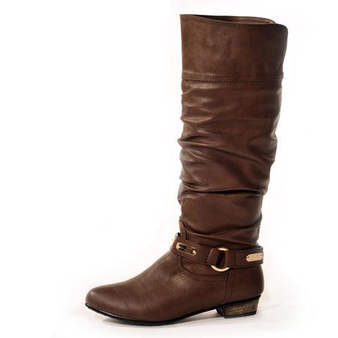 KODE Classic Brown Stylish Winter Boots