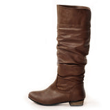 Classic Brown Stylish Winter Boot