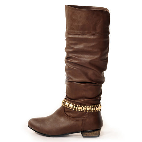 ROXY Classic Brown Stylish Winter Boots