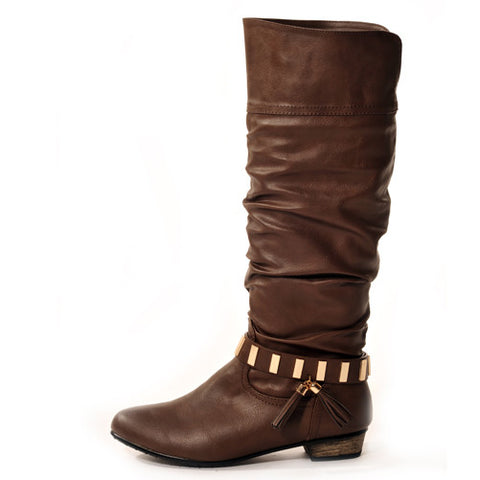 SWING Classic Brown Stylish Winter Boots