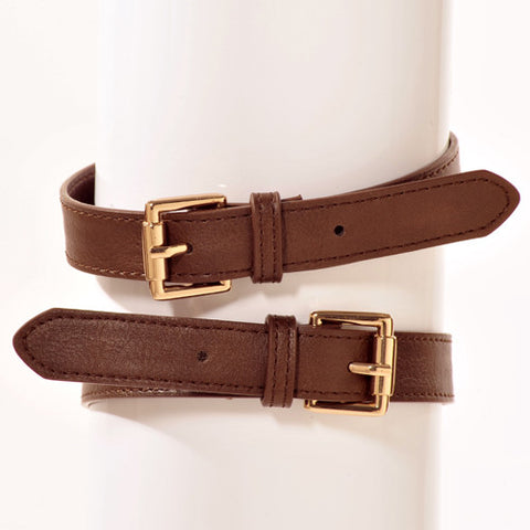 RAPT Brown Boot Belt Accessory