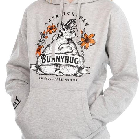 FLAT Clothing Bunnyhug Light Grey