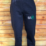 Grey SASK Sweatpants with Elastic Cuff
