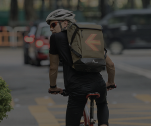 The World's First SMART Backpack for Cyclists & Motorcyclists.