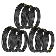Load image into Gallery viewer, 9 Pcs 147ft Anodized Aluminium Bonsai Training Wire in 3 Sizes