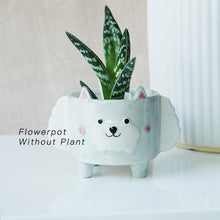 Load image into Gallery viewer, Ceramic Animal Flower Pots