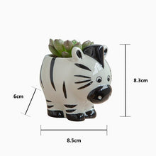 Load image into Gallery viewer, Nordic Ceramic Animal Flower Pot