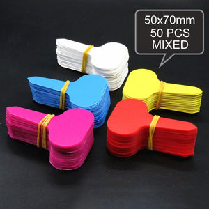 50pcs Colourful Plant Labels