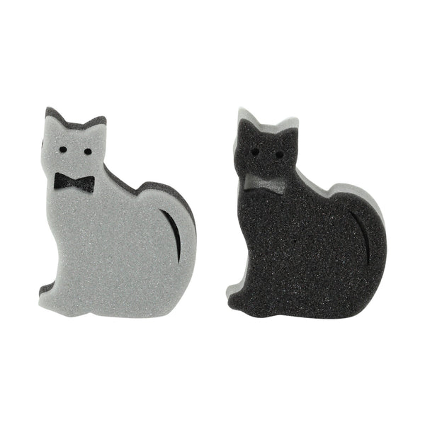 KITCHEN SPONGE CAT 2P SET