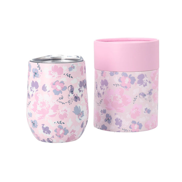 CHICK Stainless Tumbler Flower PINK
