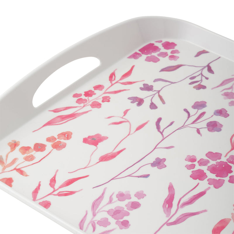 MELAMINE Tray Water Flower Large