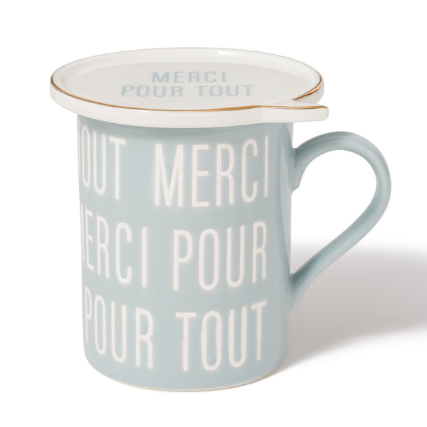 MERCI MESSAGE MUG LBL